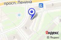 Схема проезда до компании ОГОНЕК в Кировске