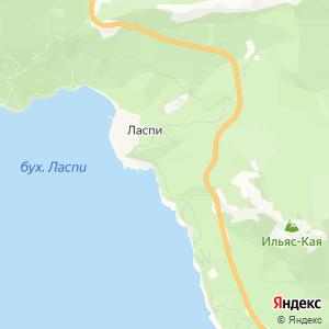 Карта города Ласпи