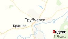 Гостиницы города Трубчевск на карте