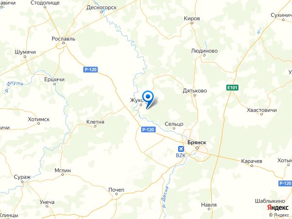 посёлок Слободской на карте