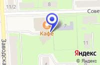 Схема проезда до компании БОКСИТОРГОРСКИЙ ОТДЕЛ в Бокситогорске