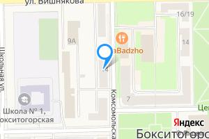 Двухкомнатная квартира в Бокситогорске Комсомольская улица, 14