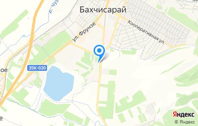 Местоположение на карте пункта техосмотра по адресу Респ Крым, Бахчисарайский р-н, г Бахчисарай, ул Мира, д 11Б