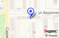 Схема проезда до компании ТФ ТСК в Бокситогорске