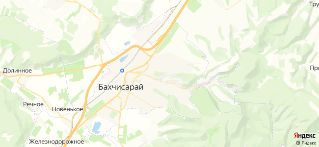 Гостиницы Бахчисарая - объекты на карте