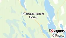 Отели города Марциальные воды на карте