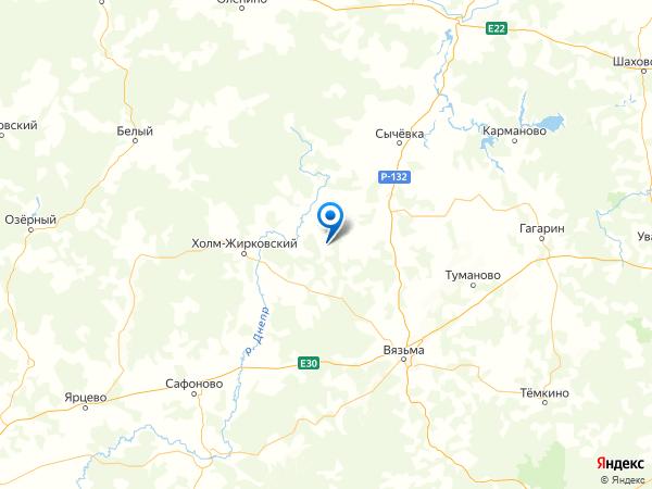 деревня Варварино на карте