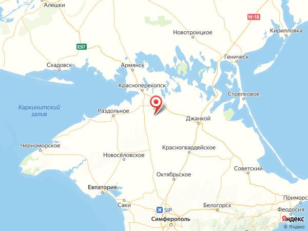 село Новая Деревня на карте