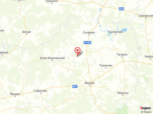 деревня Марьино на карте