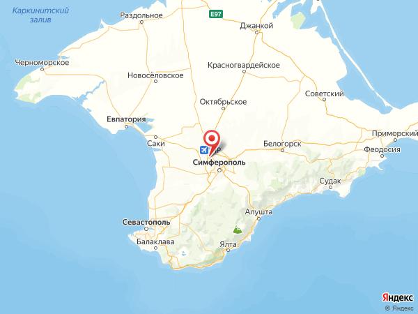 поселок городского типа Комсомольское на карте