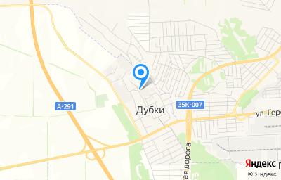 Местоположение на карте пункта техосмотра по адресу Респ Крым, Симферопольский р-н, с Дубки, ул Гаражная, д 6