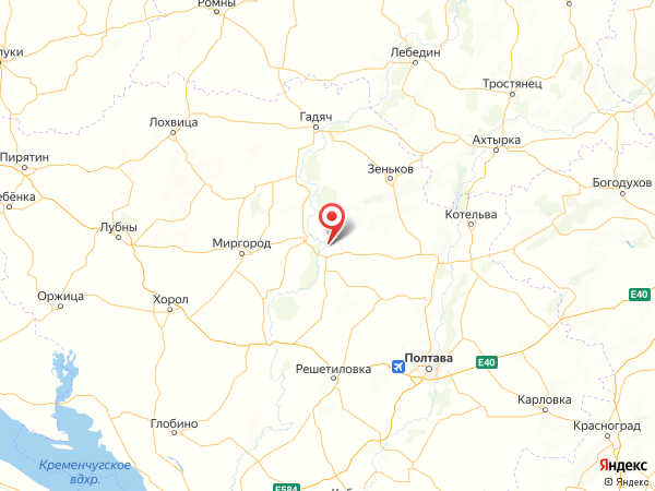 село Малый Перевоз на карте