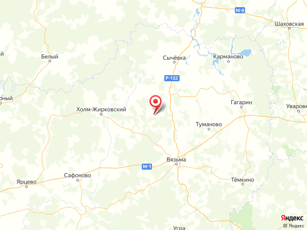 деревня Лукино на карте