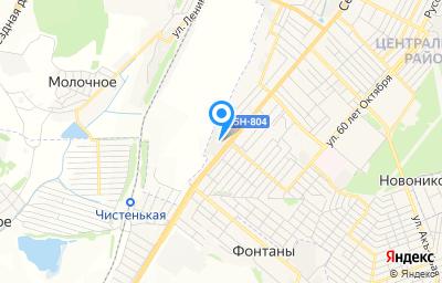 Местоположение на карте пункта техосмотра по адресу Респ Крым, г Симферополь, ул Севастопольская, д 321
