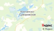 Отели города Кончанско-Суворовское на карте