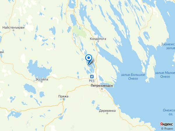 деревня Намоево на карте