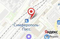 Схема проезда до компании Прокат авто в Крыме