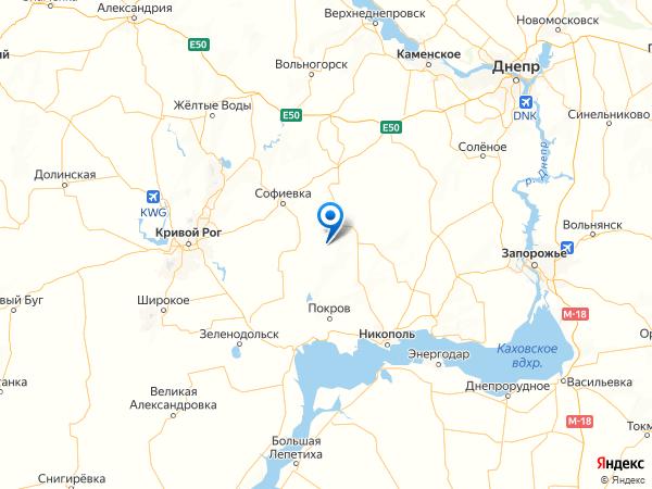 село Звезда на карте