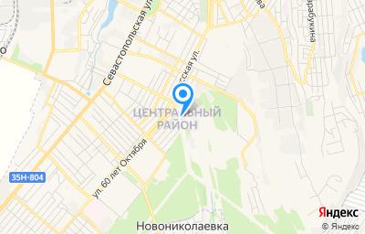Местоположение на карте пункта техосмотра по адресу Респ Крым, г Симферополь, ул Сочинская, д 2Б