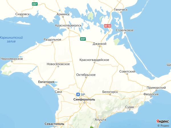 село Красная Поляна на карте