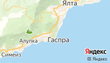 Гостиницы города Курпаты на карте