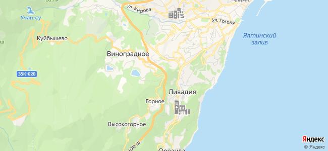 Частный сектор Ливадии - объекты на карте