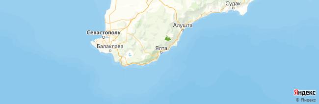 Большая Ялта на карте
