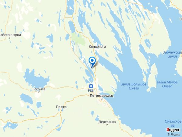 СНТ Авангард на карте