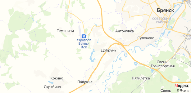 Тиганово на карте