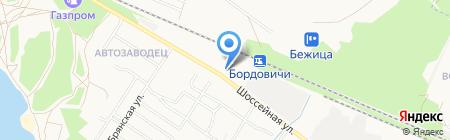 Дианар Техник на карте Брянска