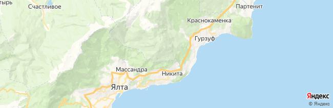 Никита на карте