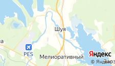 Гостиницы города Шуя на карте