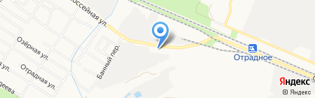 Алгоритм на карте Брянска
