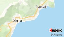 Отели города Никита на карте