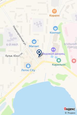АТЛЕТИЧЕСКИЙ КЛУБ КОНДОПОЖСКИЙ на карте Кондопоги