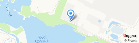 Сталь на карте Брянска