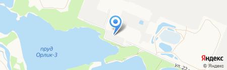 Служба заказа легкового транспорта на карте Брянска