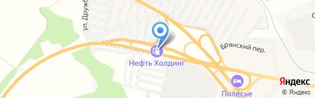 АЗС на карте Супонево