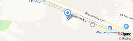 Брянский завод силикатного кирпича на карте Брянска