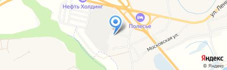 Приосколье-Брянск на карте Супонево
