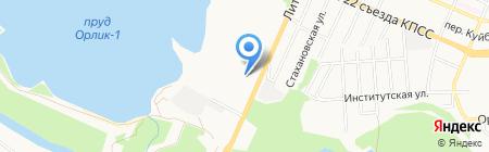 Брянскзапчасть на карте Брянска
