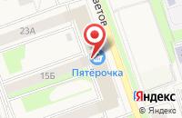 Схема проезда до компании Дирофлора в Токсово
