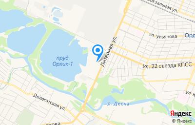 Местоположение на карте пункта техосмотра по адресу г Брянск, ул Литейная, д 3