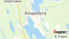 Отели города Кондопога на карте