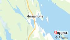 Отели города Янишполе на карте