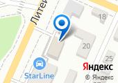 Авто-мастер на карте