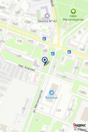ДОПОЛНИТЕЛЬНЫЙ ОФИС № 0129 БРЯНСКОЕ ОТДЕЛЕНИЕ № 8605 СБЕРБАНК РОССИИ на карте Брянска