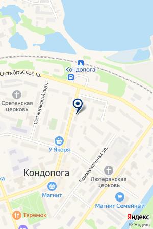 ИНТЕРНЕТ-КЛУБ СИТИЛИНГ на карте Кондопоги