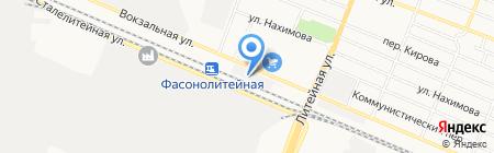 Гранит на карте Брянска