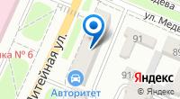 Компания АвтоТрак на карте